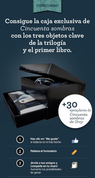 Caja Edición Especial Cincuenta Sombras de Gris