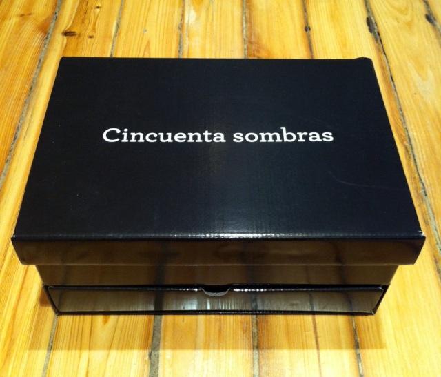 Cincuenta Sombras Grises caja Edición Especial 3