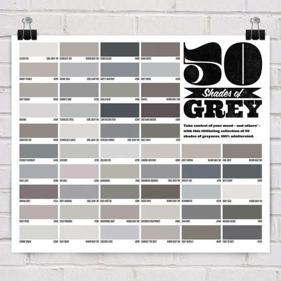 Poster 50 sombras de grey