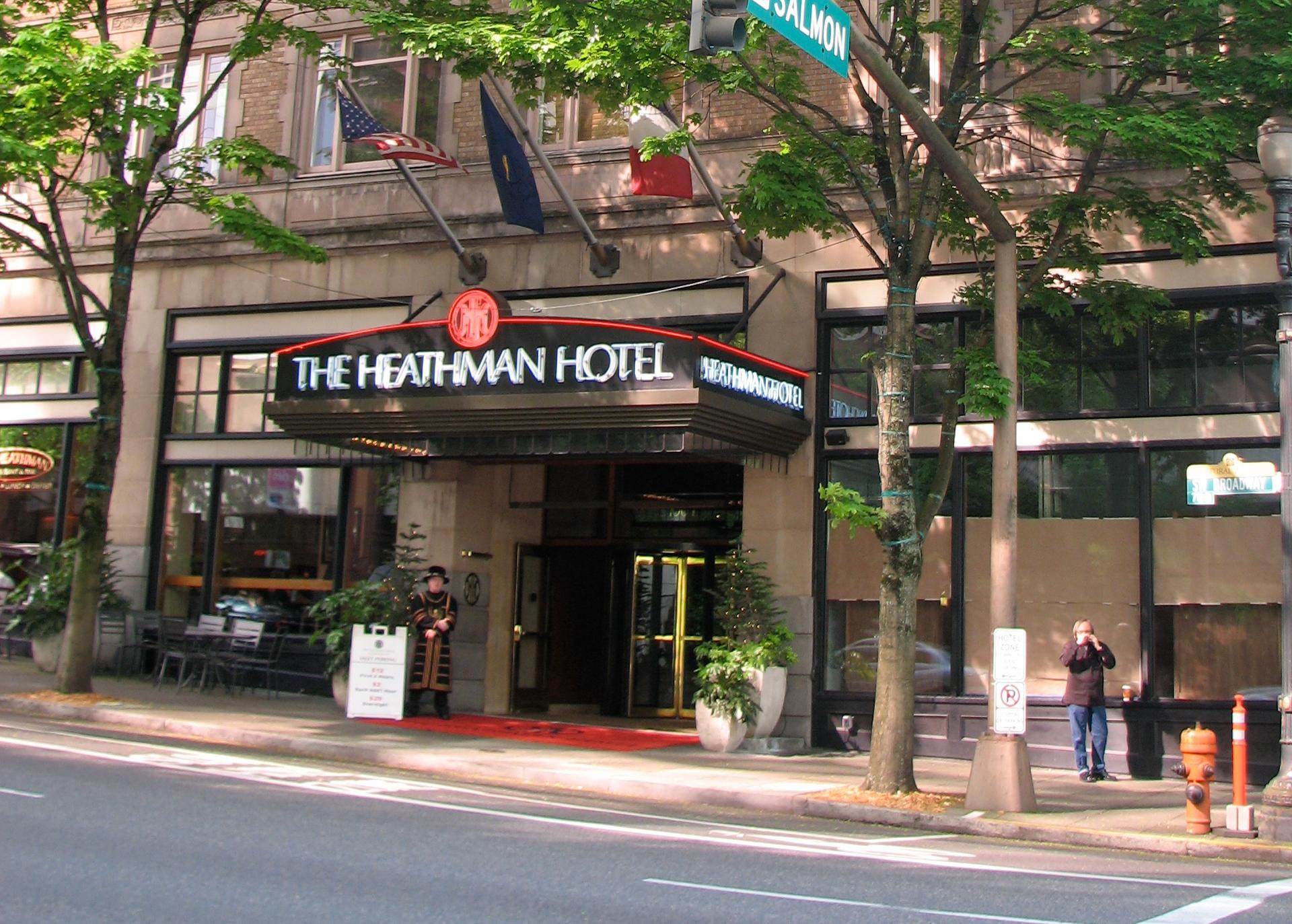 Heathman Hotel Spa Portland