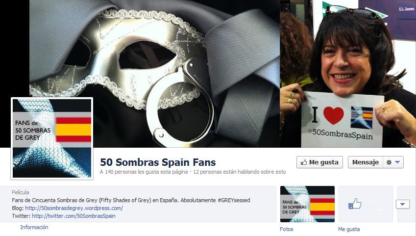 Facebook 50 Sombras Spain