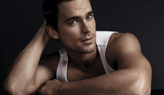 Matt Bomer as Christian Grey 3