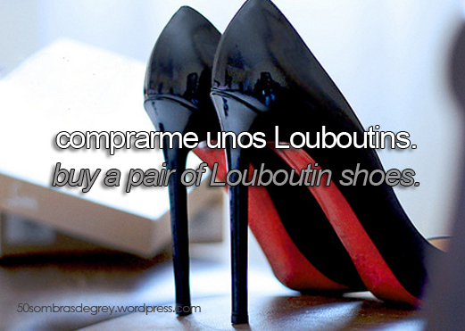 Propositos 50 Sombras Louboutins