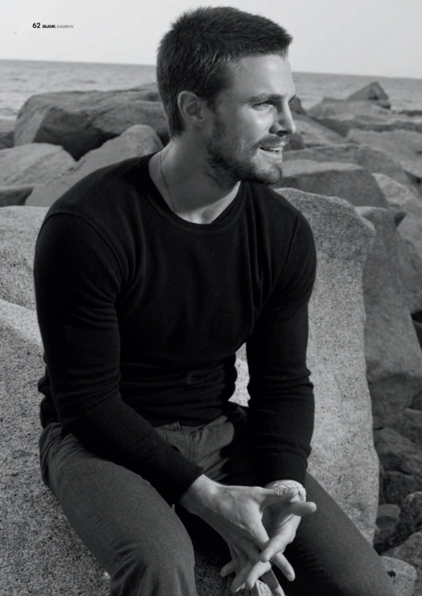 stephen-amell as Christian Grey