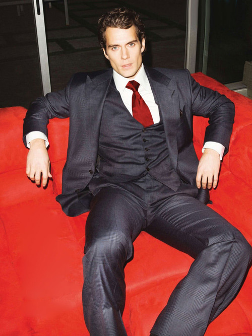 Henry Cavill GQ UK Christian Grey