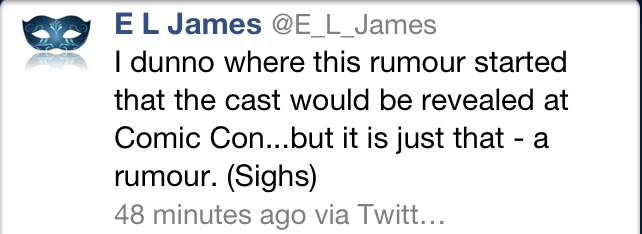 Casting Comic Con rumor