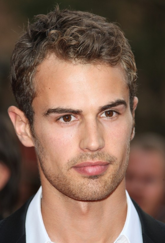 Theo James as Christian Grey