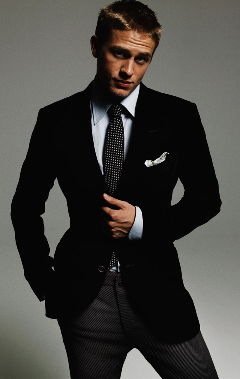 charlie_hunnam as Christian Grey