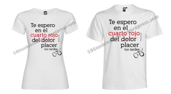 Edici n especial camiseta 50 sombras spain 50 sombras spain for Cuarto rojo 50 sombras