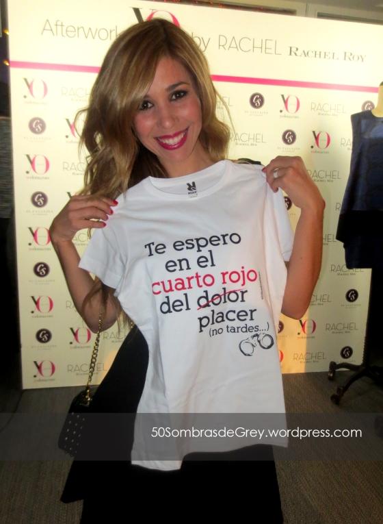 Cantante Natalia camiseta 50 Sombras