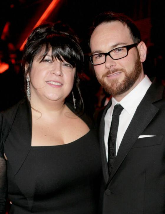 E.L. James Dana Brunetti Golden Globes 50 Sombras