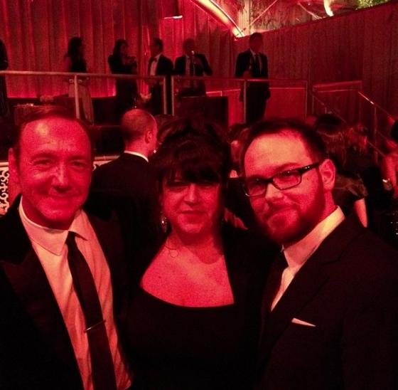 E.L. James Dana Brunetti Golden Globes 50 Sombras2