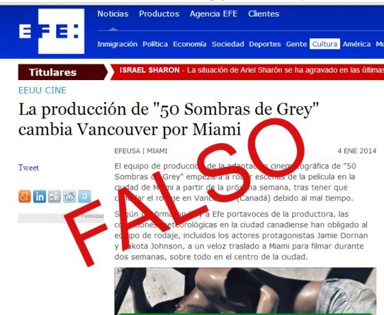 Rumor EFE 50 Sombras