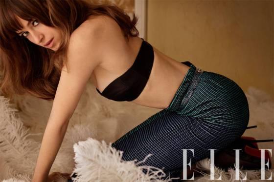 Dakota Johnson Elle USA marzo 14 2