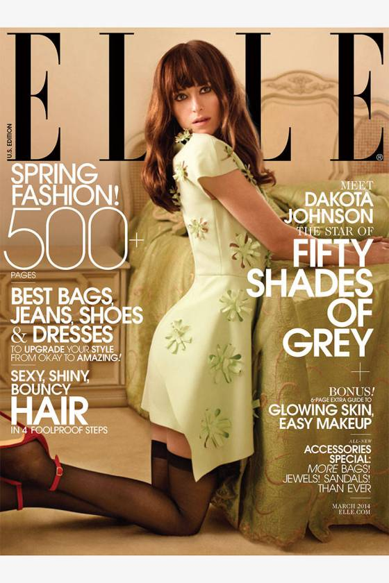 Dakota Johnson Elle USA marzo 14