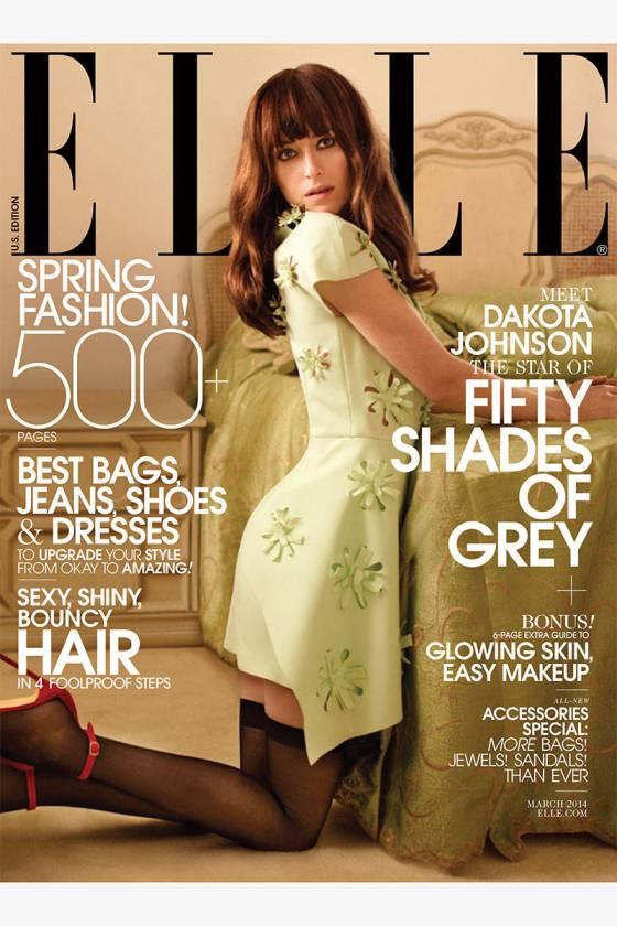 Dakota Johnson Elle USA marzo 14